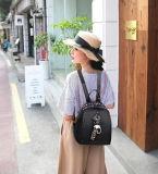 Пакет милого Backpack кожаный любовников PU женщин подростковый (WDL0919)