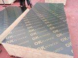 El primer grado WBP pegamento película marino frente a la construcción de madera contrachapada