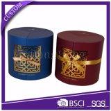 De ronde Doos van het Parfum van de Gunst van de Ramadan van de Gift van de Buis Stijve Verpakkende