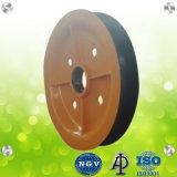 Puleggia di sollevamento della carrucola della rotella della corda del pezzo fuso di alta qualità
