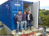 25kw het stille Biogas Generator/CHP van het Type in Noorwegen