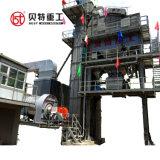 Construção de planta de misturas betuminosas 80tph