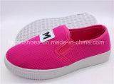 Обувь детей обувает фабрику ботинок холстины Slip-on впрыски (ZL1017-13)