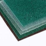 Hoja grabada alta calidad del policarbonato del diamante para la pared de partición de interior