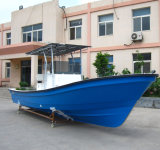 Liya 25FT Bateau de pêche de la rivière de la Chine avec coque en fibre de verre