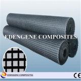 fibre de verre enduite Geogrid du bitume 25kn pour le renfort de trottoir d'asphalte
