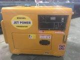 Генератор двигателя с воздушным охлаждением 5.5kVA электрического старта портативный молчком тепловозный