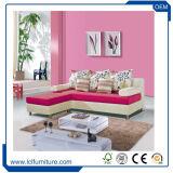 Base di sofà curva cuoio sezionale dell'unità di elaborazione di formato del salone grande
