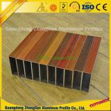 De houten Buizen van het Aluminium van de Korrel voor de Decoratie van het Venster en van de Deur
