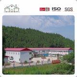 Casa prefabricada del campo del edificio móvil prefabricado movible de la estructura de acero de los paneles de emparedado