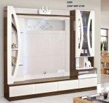 현대 디자인 거실 나무 텔레비젼 대
