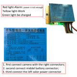 1080P 3G/4G sem fios alimentados por bateria solar alarme GSM Câmara IP para exterior