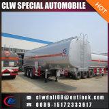 腐食性の液体半タンクトレーラトラック、腐食性の液体のための半ステンレス鋼タンクトレーラー