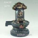 Estátua Hindu de Shiva Lingam do deus para Puja
