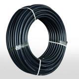 Barato de plástico preto do tubo de irrigação gota a gota de HDPE