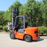 Forklift Diesel do Forklift de um Tcmc de 3 toneladas com processamento de papel da fábrica da braçadeira do rolo