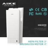Secador doble de alta velocidad automático de la mano del jet del sensor eléctrico del cuarto de baño del hotel AK2030