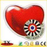 Дешевые Custom металлический круглый значок