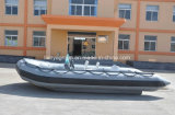 Liya 3.3-8.3m bateau gonflable rigide Rib bateau gonflable militaire