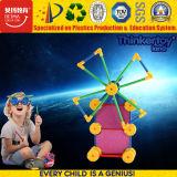 Juguete plástico de la inteligencia de la educación para los juguetes magnéticos del bloque de los cabritos