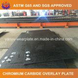 Piatto d'acciaio resistente all'uso di HRC 58-62