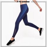 Medias de la compresión de Legging de los pantalones de los deportes de las mujeres con la impresión de la insignia