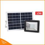 Outdoor 30W rechargeable Projecteur solaire LED pour éclairage de rue de jardin