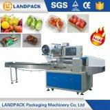 Автоматические овощи/плодоовощи с машиной упаковки завертчицы подачи пакета подачи подноса