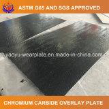 Plaque d'usure de carbure de chrome pour la centrale fixe