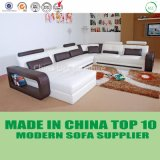 現代大型のホーム家具の革居間のソファー