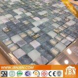 목욕탕과 부엌 (M815014)를 위한 Hotsale 15X15mm 유리 그리고 돌 모자이크