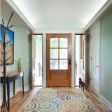 Portas de madeira contínuas com pintura do folheado para a residência