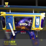 2015 [أترإكس] [إإكسبو] ترقية عالميّ فراغ تسلية [غم مشن] هواء لعبة هوكي طاولة أطفال كون هواء لعبة هوكي عملة يشغل آلة