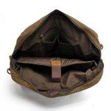 Sacchetto lavato del messaggero dell'uomo di affari della borsa del computer portatile della tela di canapa (RS-2169-P)