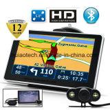 """Дешевые 5.0"""" погрузчик морской навигации GPS с помощью европейского,Россия,GPS навигатор карты, FM-передатчик, AV-в камеру заднего вида, ручной система навигации GPS, Bluetooth"""