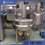 Les mesures sanitaires de mélangeur de cuisine industrielle en acier inoxydable 500L bouilloire de cuisson