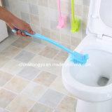 O dobro do terminal dos pontos cegos tomou o partido densamente escova longa do toalete do punho
