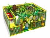 L'usine d'équipements de terrain de jeux intérieure d'alimentation des enfants de diapositives en plastique