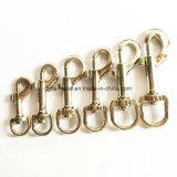Crochet en alliage de zinc de rupture d'émerillon d'animal familier de vente chaude pour le sac de collier de laisse (Hsg0022, 0023)