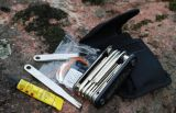Minicomputer Pocket Bicycle Repairing Kit Professional Bike Tools Withtire Patch Rising