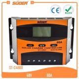 Contrôleur solaire de charge de panneau solaire de Suoer 48V 60A (ST-C4860)