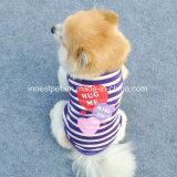 جذّابة كلب [ت-شيرت] فصل صيف ملابس يلبّي محبوب كلب أشرطة [ت-شيرت]