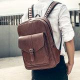 L'unité centrale de sac à dos d'école met en sac le rétro sac à dos classique d'université pour des garçons