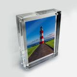 Hersteller passte gebildeten preiswerten magnetischen Foto-acrylsauerrahmen an