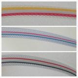 Tubo flessibile di giardino Braided del tubo flessibile del PVC del tubo flessibile del PVC del tubo di concentrazione della fibra del PVC