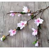 人工的な蘭の絹の花のStcikのマグノリアの結婚式の方法芸術の装飾