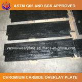 Plaque d'usure de carbure de chrome de soudure pour le convoyeur