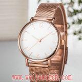 Wristwatch повелительниц кварца ODM способа вскользь (Wy-17038)