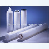 Cartucce di filtro pieghettate aria da 2.5/5 pollici per purificazione di acqua