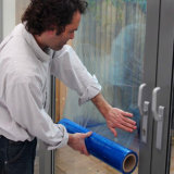 PET Schutz-Film für Fenster-Glas-Oberfläche